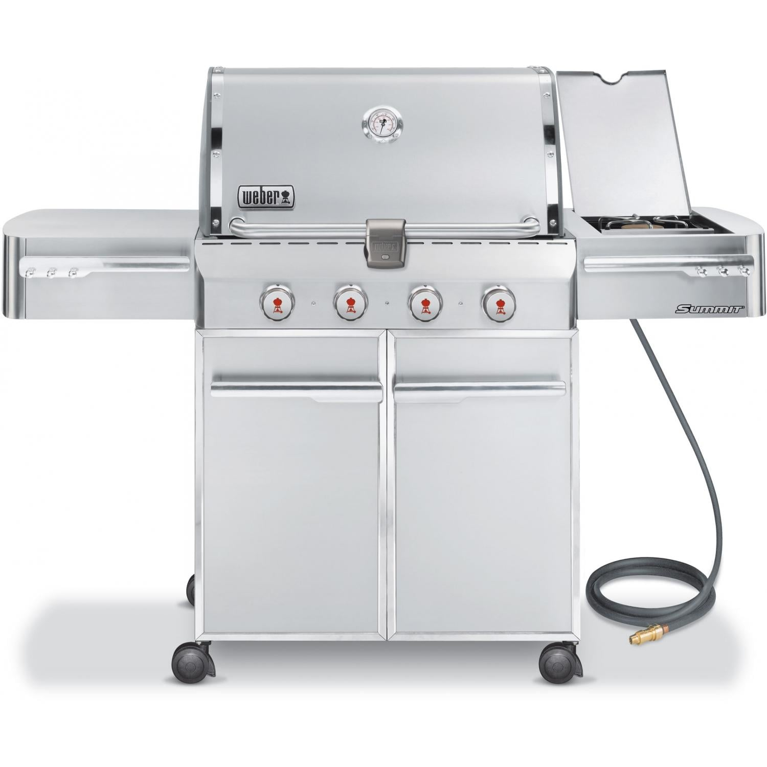 weber gas grills summit s 420 natural gas bbq grill. Black Bedroom Furniture Sets. Home Design Ideas
