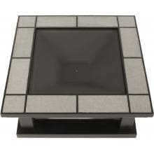 Real Flame Crestone 34-Inch Wood Burning Fire Pit - Gray Tile - 914-GRT Real Flame Crestone 34-Inch Wood Burning Fire Pit - Top View
