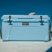 YETI Tundra 65 Cooler - Blue - YT65B YETI Tundra 65 Cooler - Blue - At Home On The Water