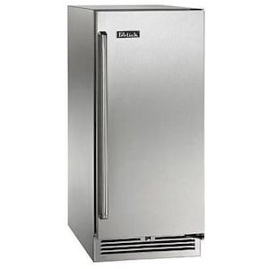 Perlick Signature Series 15-Inch 2.8 Cu. Ft. Right Hinge Outdoor Rated Compact Refrigerator - HP15RO-3-1R image