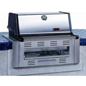 MHP TJK2 Built-In Natural Gas Grill With Stainless Grids image