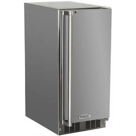 Marvel 15-inch Right Hinge Outdoor Ice Maker - Stainless Steel - 30iMT-SS-F-R