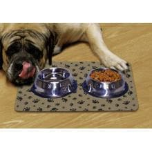 DryMate Large Pet Bowl Place Mat - Tan