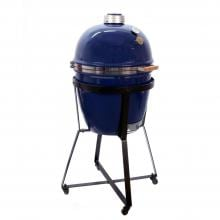 Grill Dome Infinity Series Large Kamado Grill On Dome Mobile - Blue image