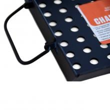 Portable Kitchen Steel Charcoal Basket Portable Kitchen Steel Charcoal Basket - Handle Out