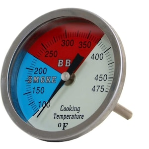 3 Inch Large Smoker Thermometer image