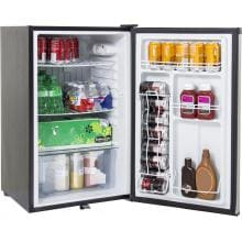 Blaze 4.5 Cu. Ft. Compact Refrigerator With Recessed Handle - Stainless Steel