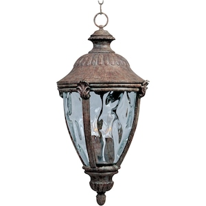 Maxim Morrow Bay DC Three Light 26-Inch Outdoor Hanging Lantern - Earth Tone - 3192WGET image