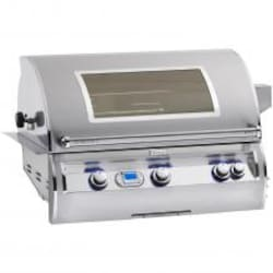 Fire Magic Echelon Diamond E790i 36-Inch Built-In Natural Gas All Infrared Grill With Magic View Window - E790i-4A1N-W image