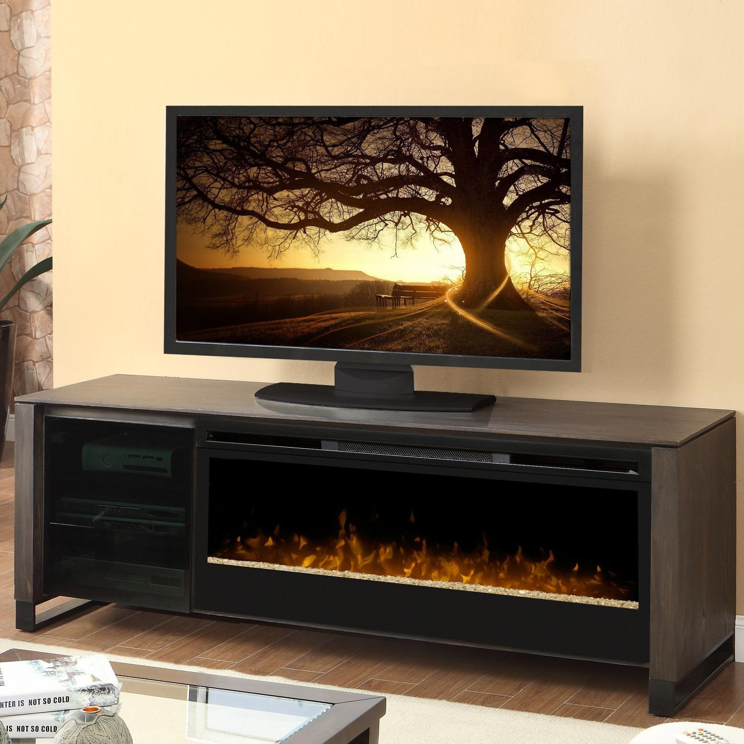 Dimplex Howden 75 Inch Electric Fireplace Media Console