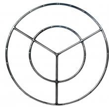 Dagan Industries 30-Inch Stainless Round Double Natural Gas Fire Pit Ring Burner image