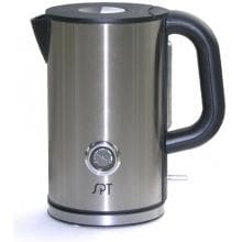 Sunpentown Electric Kettle Stainless Steel 1.7 Liter Capacity With Temperature Display - SK-1717 image