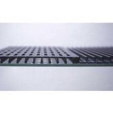 MHP TJK2 Natural Gas Grill With SearMagic Grids On Black Patio Base SearMagic Reversible Aluminum Cooking Grids