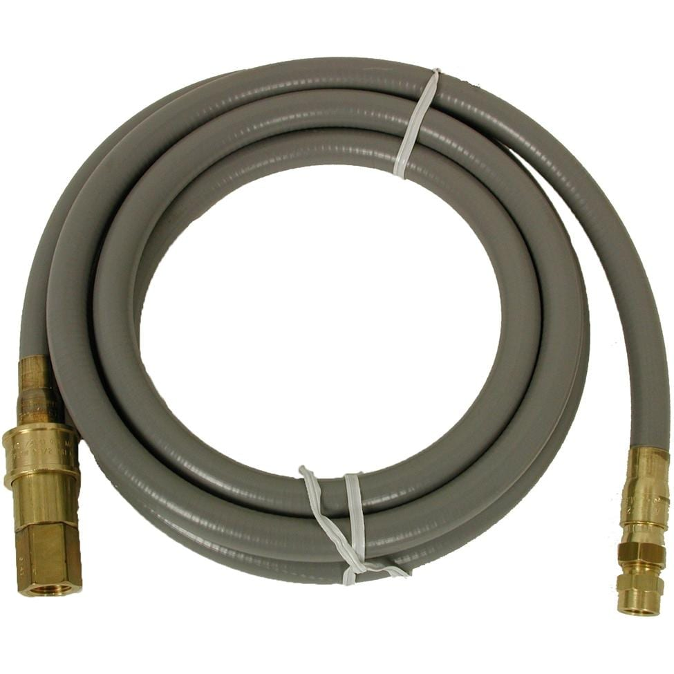 SOLAIRE 1/2 Inch Natural Gas Hose With Quick Disconnect -...