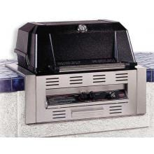 MHP WNK4DD Built-In Propane Gas Grill With Stainless Grids image
