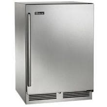 Perlick Signature Series 24-Inch 5.2 Cu. Ft. Right Hinge Outdoor Rated Compact Refrigerator - HP24RO-3-1R Perlick S-Series 5.2 Cu. Ft. Right Hinge Built-In Outdoor Refrigerator - Stainless Steel - HP24RO-3-1R