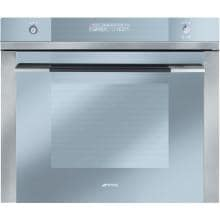 Smeg Linea 27-Inch Built-In Electric Single Wall Oven - Stainless - SC712U