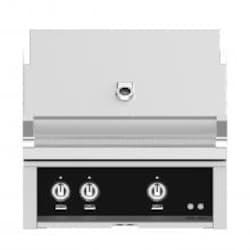 Hestan 30-Inch Built-In Propane Gas Grill W/ All Infrared Burners & Rotisserie - Stealth - GSBR30-LP-BK image