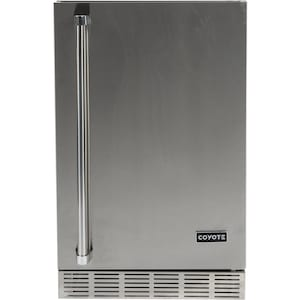 Coyote 21-Inch 4.1 Cu. Ft. Right Hinge Outdoor Rated Compact Refrigerator - CBIR image