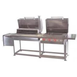 Texas Barbecues 800s Hybrid Grill W/ Open Base LP image
