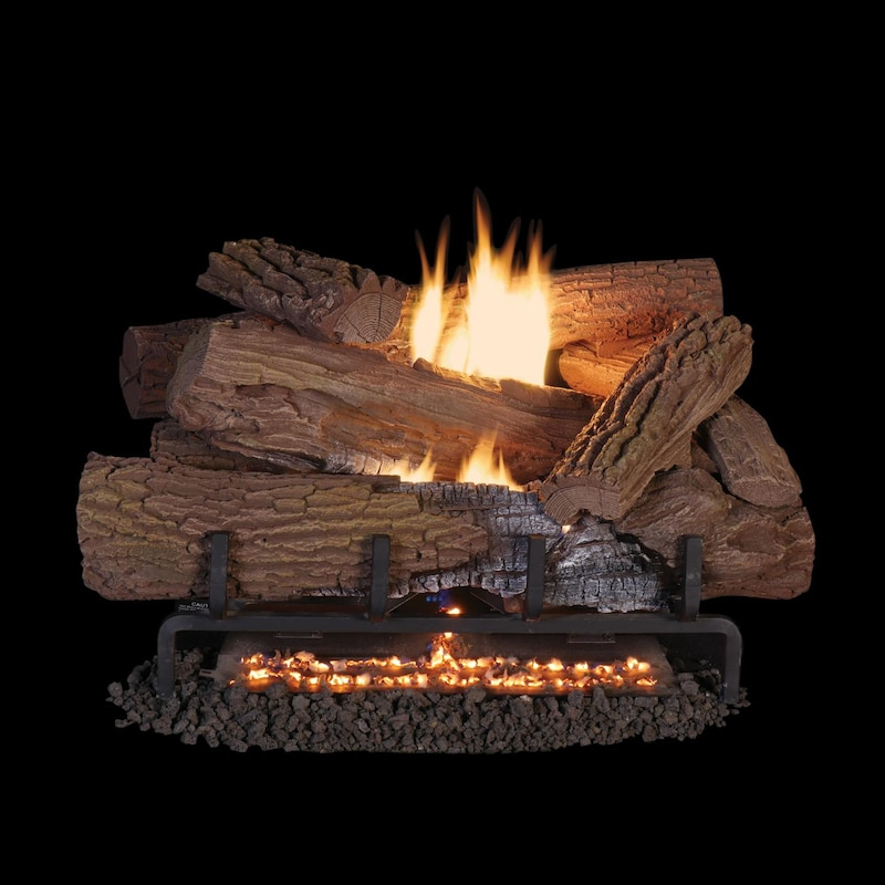 Superior Fireplaces 24 Inch Mossy Oak Gas Log Set With