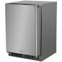 Marvel 24-inch 4.7 Cu. Ft. Left Hinge Outdoor Rated Compact Freezer - MO24FAS1LS