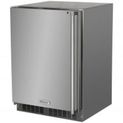 Marvel 24-inch 4.7 Cu. Ft. Left Hinge Outdoor Rated Compact Freezer - MO24FAS1LS image
