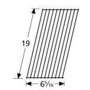 Porcelain Coated Steel Wire Rectangle Cooking Grid 51631