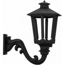 American Gas Lamp Works GL1600 Cast Aluminum Manual Ignition Natural Gas Light With Open Flame Burner And Standard Wall Mount image