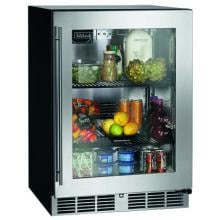 Perlick C-Series 5.2 Cu. Ft. Right Hinge Built-In Compact Refrigerator - Stainless Steel - HC24RB-3-3R image