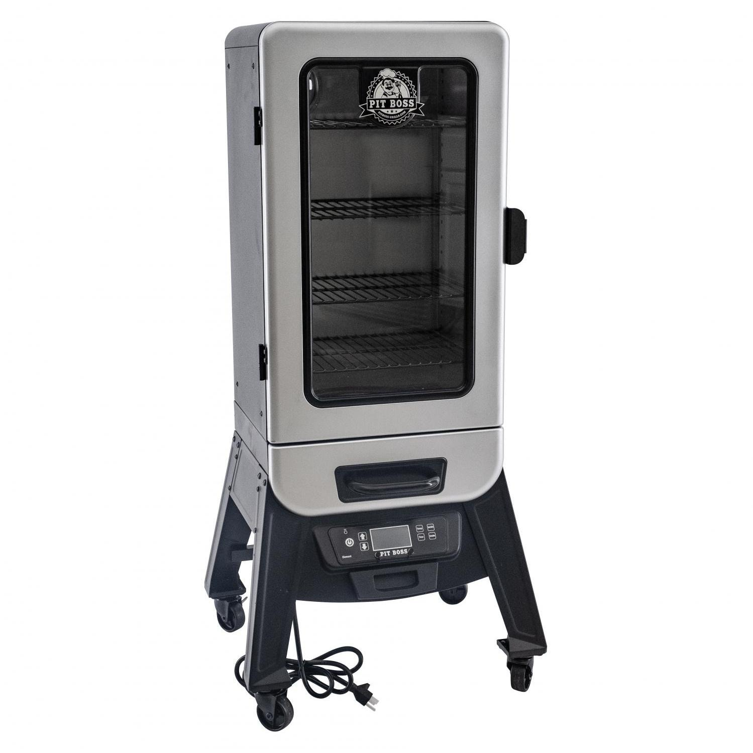 Pit Boss  77232 Silver Star 3 Series 21 inch Vertical Digital Electric Smoker with Window