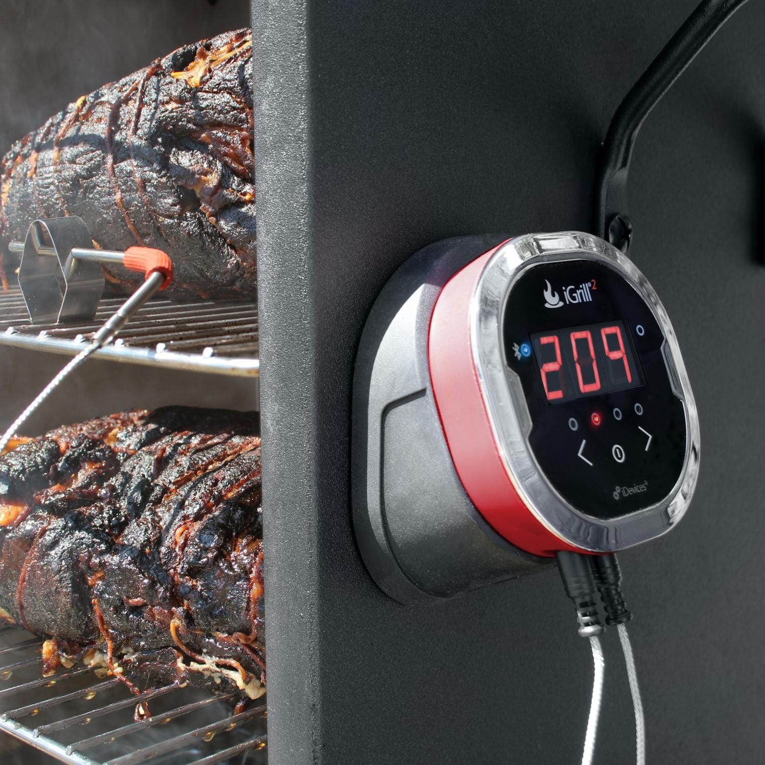weber 2 probe meat thermometer pdf
