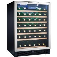 Danby 50 Bottle Wine Cooler - Stainless Steel - DWC508BLS
