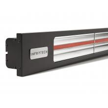 Infratech Slimline Series 63 1/2-Inch 4000W Single Element Electric Infrared Patio Heater - 240V - Matte Black - SL4024BL image