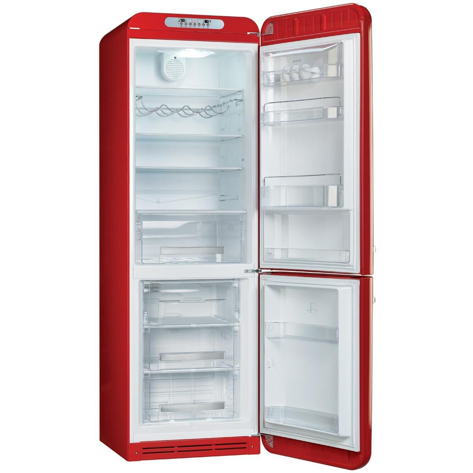 ... Cu. Ft. Bottom Freezer Refrigerator - Red - Right Hinge - FAB32URDRN
