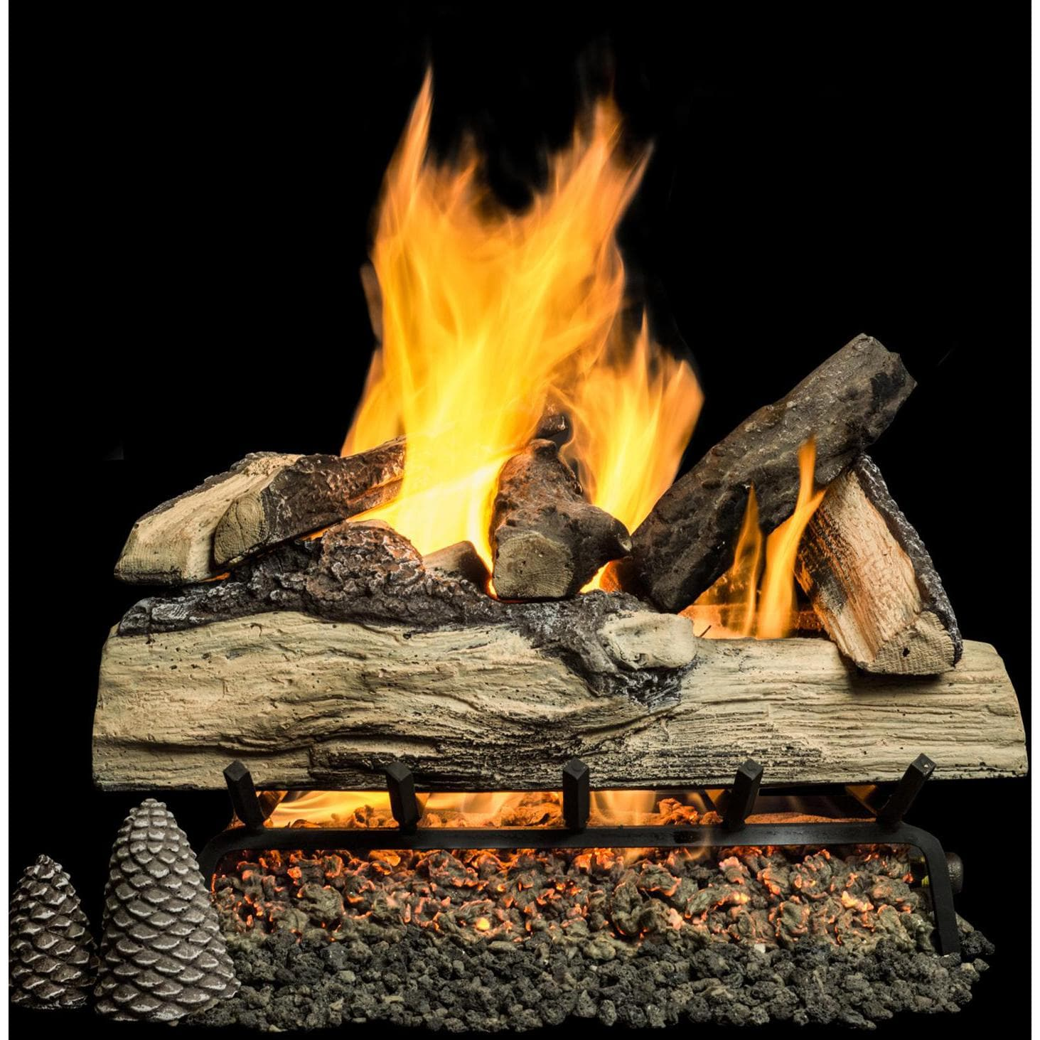 Oak Gas Log Sets
