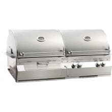 Fire Magic Aurora A830i 46-Inch Built-In Propane Gas And Charcoal Combo Grill With Rotisserie - A830i-6EAP-CB image