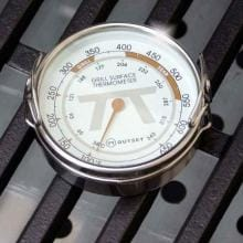 2-Inch Stainless Steel Grill Surface Thermometer