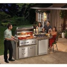 Lynx Sedona 36-Inch Built-In Propane Gas Grill With One Infrared ProSear Burner And Rotisserie L600PSR-LP Sedona By Lynx 36 Inch Propane Gas Built-In Grill With ProSear Burner And Rotisserie - Lifestyle View