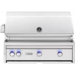 Lynx Professional 36-Inch Built-In Natural Gas Grill With One Infrared Trident Burner And Rotisserie - L36TR-NG image