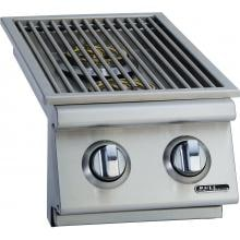 Bull Built-In Propane Gas Double Side Burner W/ Stainless Steel Lid - 30008 image