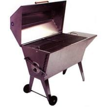 Cajun Grill Super BBQ Grill - Stainless Steel