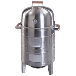 Meco Charcoal Vertical Water Smoker - Stainless - 5025