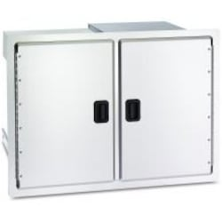 Fire Magic Legacy 30-Inch Stainless Double Access Door With Drawers And Trash Bin Storage - 23930S-12 image