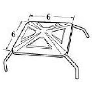 Stainless Steel Tent Heat Plate 92261 image