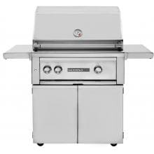 Lynx Sedona 30-Inch Freestanding Natural Gas Grill With One Infrared ProSear Burner And Rotisserie - L500PSR-NG