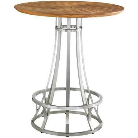 Tommy bahama tres chic patio adjustable height bar table w teak top tommy bahama tres chic patio adjustable height bar table w teak top watchthetrailerfo