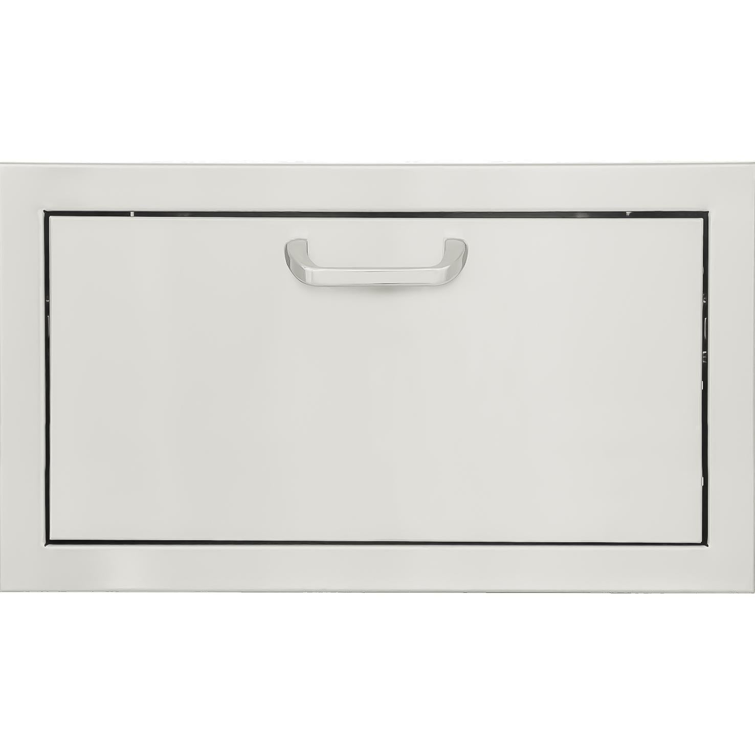 BBQGuys  Signature Series 30 X 15 inch Stainless Steel Single Access Drawer - BBQ-260-1DR15