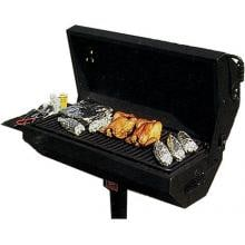 Pilot Rock Campground BBQ Charcoal Grill On Post - EC-40 B2 image
