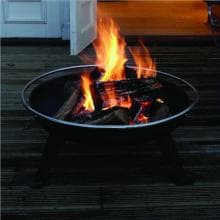 Fire Sense HotSpot Urban 650 Fire Pit Fire Sense HotSpot Urban 650 Fire Pit - In Use